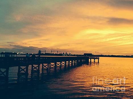 A Little Perspective at Sunset by Mitzisan Art LLC
