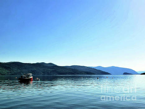 A Little Red Boat by Victor K