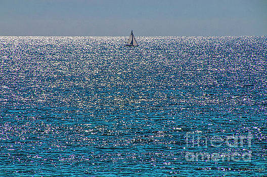 Julian Starks - A lone sailor glides