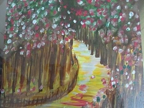 A long way by Manali Thakkar