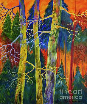 A magical forest by Veikko Suikkanen