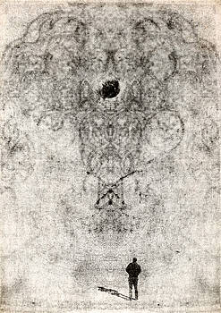 A man and his pattern by Vladas Orzekauskas