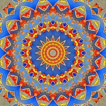 A Mandala Wonder by Mario Carini