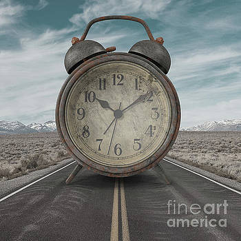 A Matter of Time Surreal by Edward Fielding