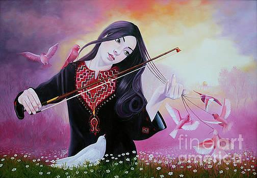 A Melody For The Peace by Imad Abu shtayyah