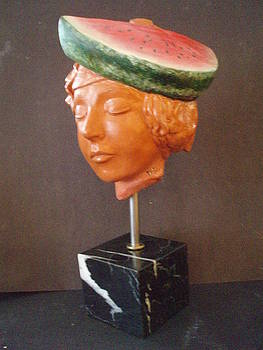 A Melon on my head by MARI Sanchez