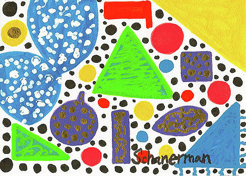 A Merry March of Dots And Spots by Susan Schanerman