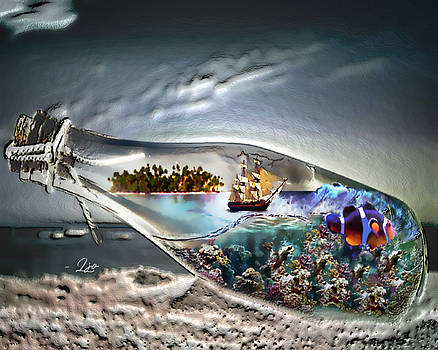 A Message in a Bottle by Linda Ouellette