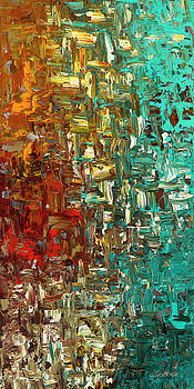 A Moment in Time - Abstract Art by Carmen Guedez