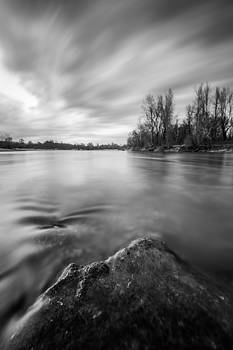 A moment on the river by Davorin Mance