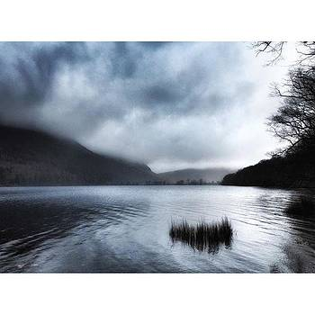 A misty walk round Lake Buttermere  by Rebecca Bromwich
