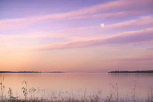 Ellie Teramoto - A Moon And Lake Somerville - Texas