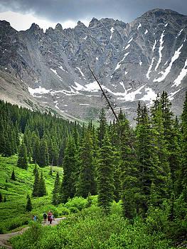 A Mountain Stroll by Paki O'Meara