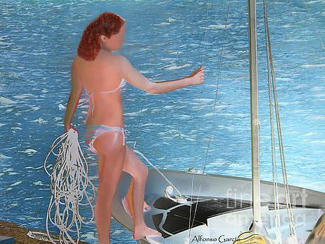 A Navegar by Alfonso Garcia