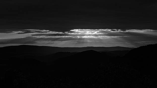 A New Day - B/w Version by Andreas Levi