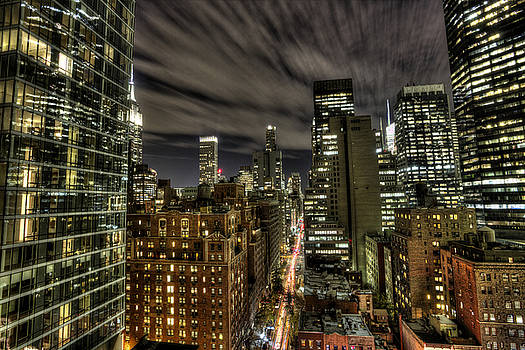 A New York City Night by Shawn Everhart