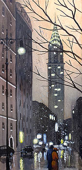 A New York Evening by Dave Rheaume