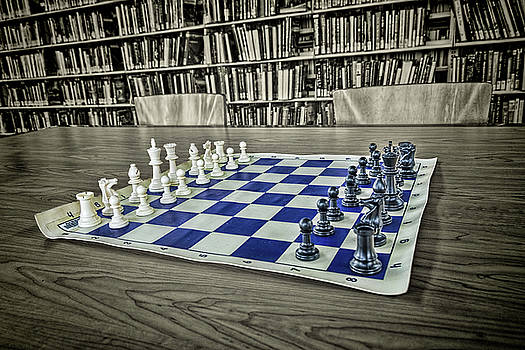 A Nice Game of Chess by Lewis Mann