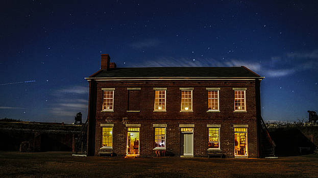 Paula Porterfield-Izzo - A Night at Fort Clinch State Park