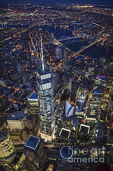A Night in New York City by Roman Kurywczak
