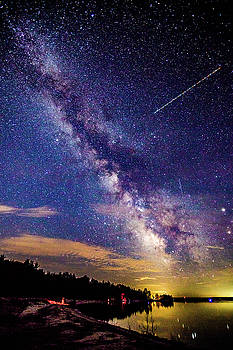 A Northern View of the Milky Way by J Thomas