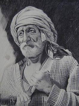 A old man by Jacob Joseph