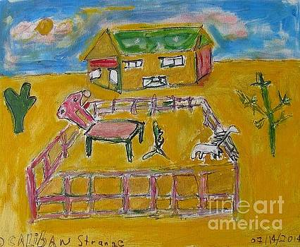 A Painting Farm- small by Caliban Strange