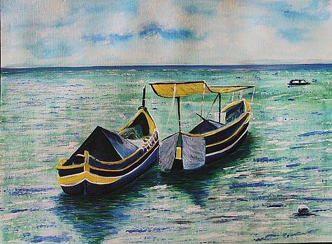 A pair of boats by Amita Kaushik
