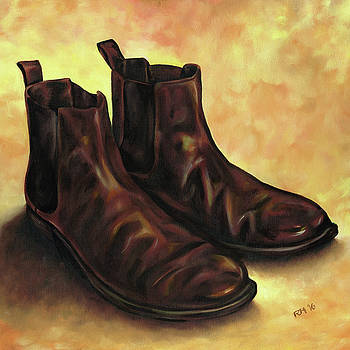 A Pair of Chelsea Boots by Richard Mountford