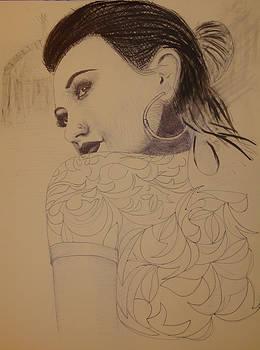 A Pakistani Girl by Reza Naqvi