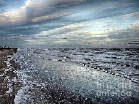 A Peaceful Beach by Charles McKelroy