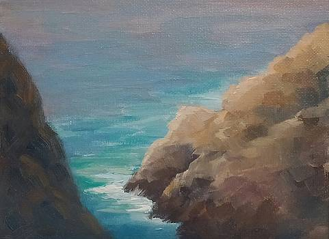 A Peak at Rocky Point by Candace Doub