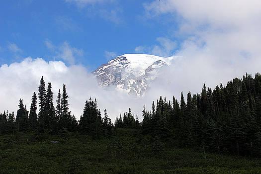 A peaking Rainier by Richard Jones