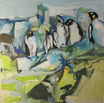 A penguins Home by Colette Wirz