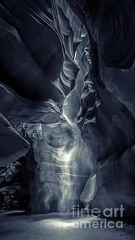 A Phantom Emerges from Antelope Canyon by Jim DeLillo