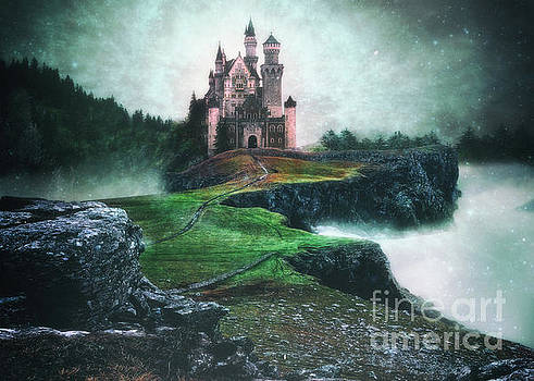 Magical castle in the sky by Thomas Gibson