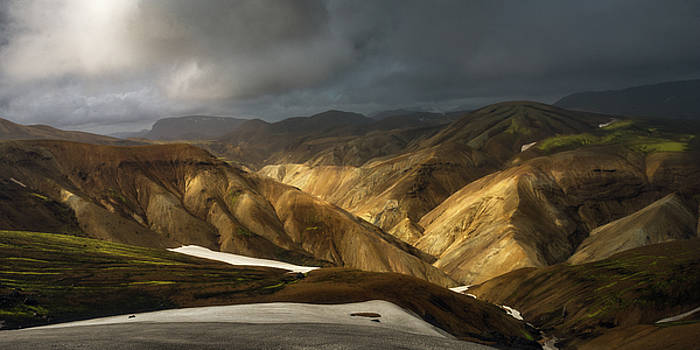 A Piece Of Laugavegur by Tor-Ivar Naess