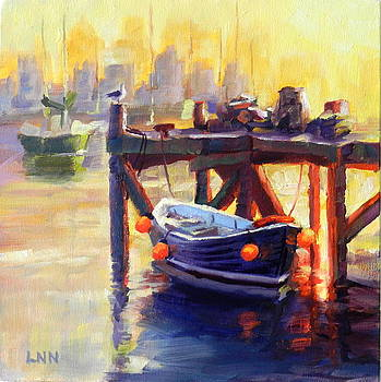 A Pier by Ningning Li
