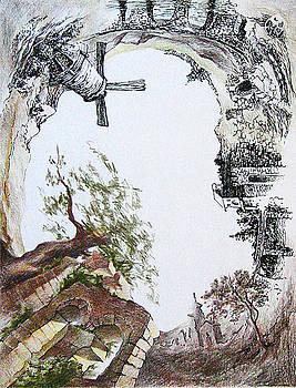 A pit by Misha Lapitskiy