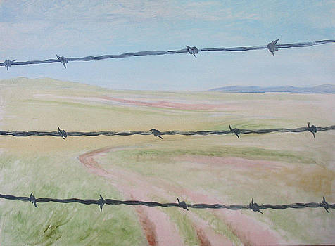 A Pitiful Steppe by Ji-qun Chen
