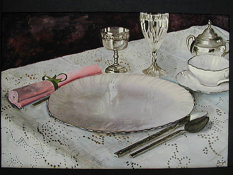 A Place Setting by Dwight Williams
