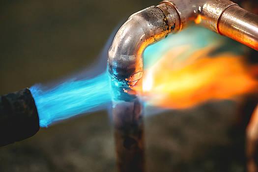 Eduardo Huelin - A plumbers hot gas soldering burner