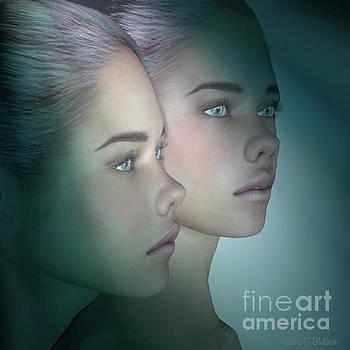 A Portrait Of Twins by Barbara Milton