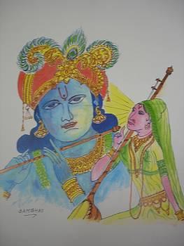 A Prayer to Lord Krishna by Sunil Mehta