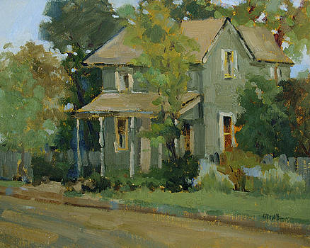 A Quiet Day on Creek Street by Judy Crowe