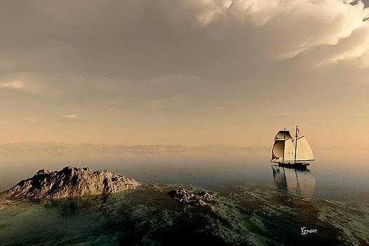 A Quiet Sail by Julie Grace