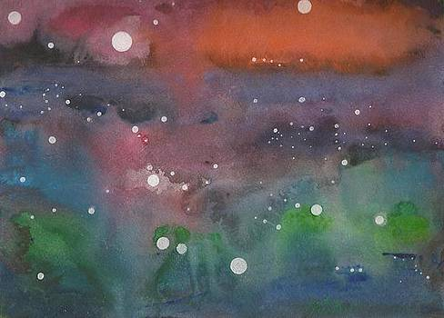 A Rainbow of Spacedust by Janet Hinshaw