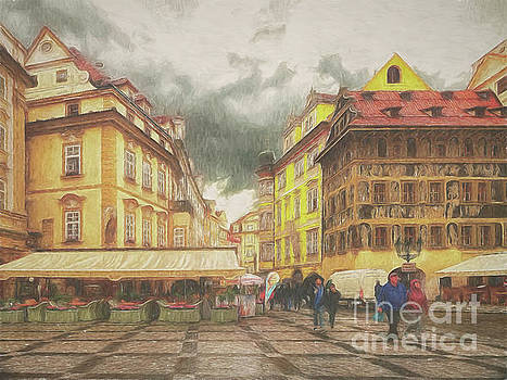A rainy day in Prague by Leigh Kemp