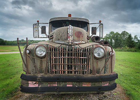 A Really Rusty Ford by Guy Whiteley