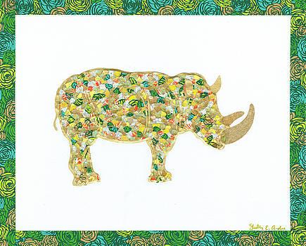 Paper Figments - A Rhino